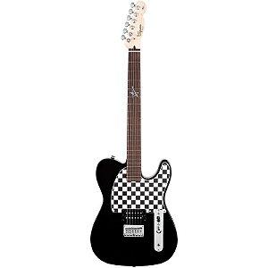 Guitarra Fender Squier Telecaster Avril Lavigne Preta