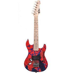 Guitarra Infantil Marvel Phoenix Homem Aranha Com Correia