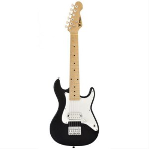 Guitarra Infantil Phoenix Stratocaster JR PHX IST-H Preta
