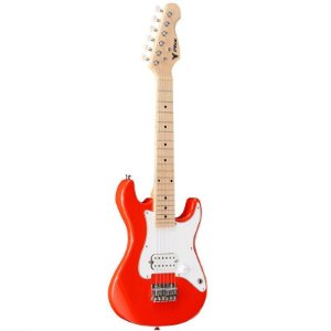 Guitarra Infantil Phoenix Stratocaster JR PHX IST-H Vermelha