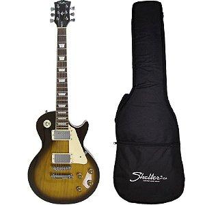 Guitarra Les Paul Shelter Nashville 305 Sunburst Com Bag