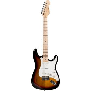 Guitarra Michael Advanced Stratocaster Gm227n Vs Vintage Sunburst