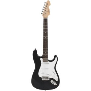 Guitarra Michael Stratocaster Gm217n Preto Metálico