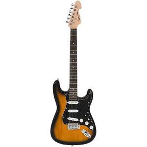 Guitarra Michael Stratocaster Gm217n Sunburst