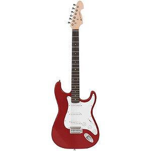 Guitarra Michael Stratocaster Gm217n Vermelho Metálico