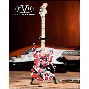 Guitarra Miniatura Axe Heaven Frankenstein Eddie Van Halen Evh-001