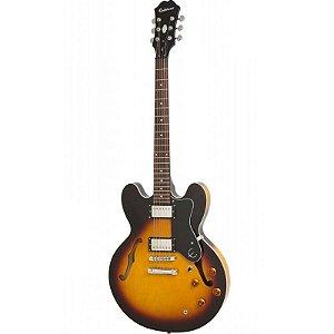 Guitarra Semi Acustica Epiphone Es335 Dot Vintage Sunburst