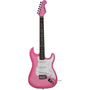 Guitarra Stratocaster Gypsy Rose Gre1k-Cpk Turbo Champagne Pink