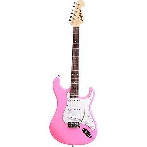 Guitarra Stratocaster Memphis Tagima Mg 32 Rosa