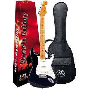 Guitarra Sx Sst57 Vintage Series Bk