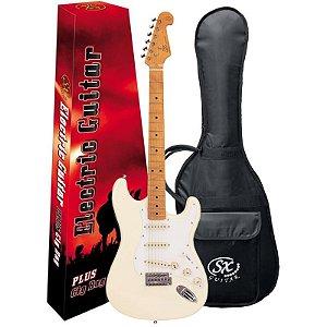Guitarra Sx SST57 Vintage Series Wh