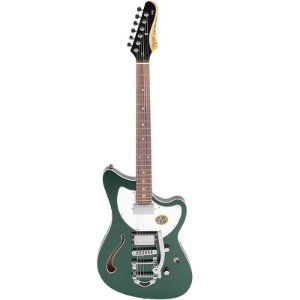 Guitarra Tagima Semi Acústica Jet Blues Deluxe Verde Metálico