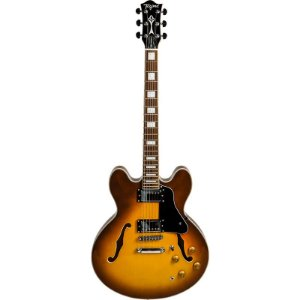 Guitarra Tagima Special Semi Acústica Blues 3000 Honey Burst Com Hard Case