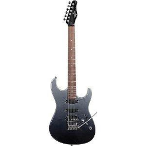 Guitarra Tagima Stella H3 Bf Degradê Preto Pérola Metálico