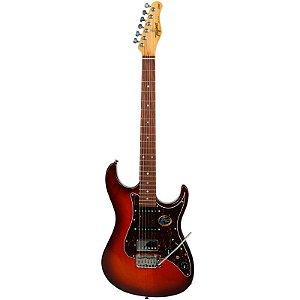 Guitarra Tagima Stella Hss Honey Burst Série Brasil