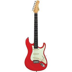 Guitarra Tagima Stratocaster Ea-Pro 2 Edu Ardanuy Fiesta Red