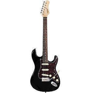 Guitarra Tagima Stratocaster T-635 Classic Hand Made Preta