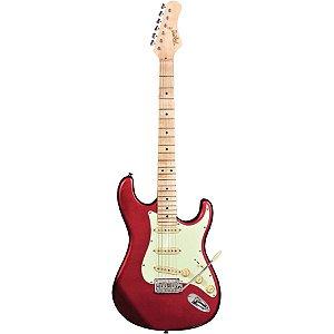 Guitarra Tagima Stratocaster T-635 Classic Hand Made Vermelho Metálico