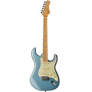 Guitarra Tagima Stratocaster Woodstock Series Tg530 Azul Metálico