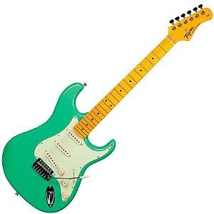 Guitarra Tagima Stratocaster Woodstock Series TG530 Surf Green
