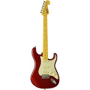 Guitarra Tagima Stratocaster Woodstock Series Tg530 Vermelho Metálico