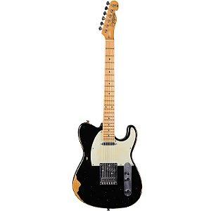 Guitarra Tagima T405 Antique Telecaster Hand Made In Brazil Preta