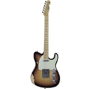 Guitarra Tagima T405 Antique Telecaster Hand Made In Brazil Sunburst