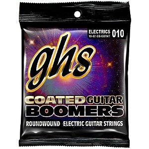Encordoamento Guitarra GHS 0.10 Híbrido Coated Boomers Revestido