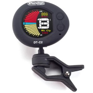 Afinador Clip Dunlop Cromático Deluxe Dt-c2
