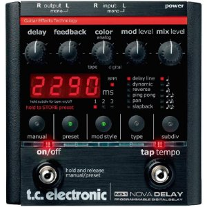 PEDAL TC ELETRONICS NOVA DELAY DIGITAL ND-1