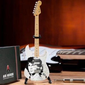 GUITARRA FENDER MINIATURA AXE HEAVEN JIM MORRISON JM-001 RADIO DAYS