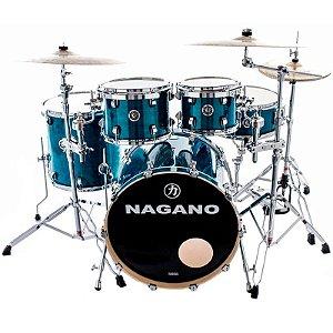 Bateria Acústica Nagano Concert Traditional Lacquer Deep Blue