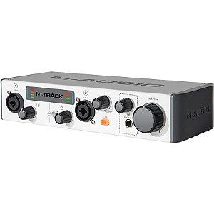 Interface M-Audio 2 Canais USB Mtrack Plus II