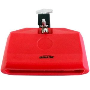 BLOCK SONORO X-PRO PERCUSSION JAM BLOCK VERMELHO CLAMP BY C.IBAÑEZ