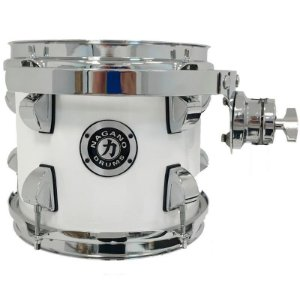 "Tom Nagano 8""x7"" Concert Lacquer Com Clamp e Holder Cor Pure White"