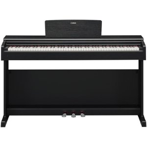 Piano Digital Yamaha Arius YDP-144 Preto Com Banco