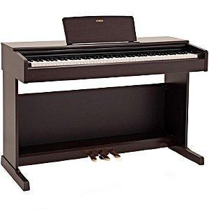 Piano Digital Yamaha Arius YDP-144 Rosewood Com Banco