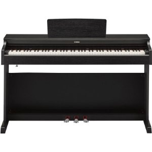 Piano Digital Yamaha Arius YDP-164B Preto Com Banco