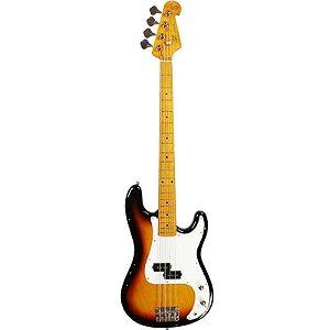 Contrabaixo Sx Precision Bass Spb57 4 Cordas Sunburst Com Bag
