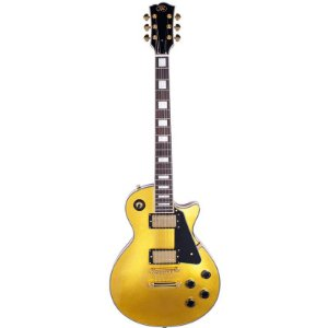 Guitarra Sx Les Paul Eh3gd Gold Top
