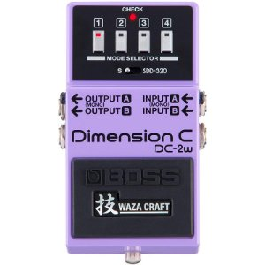 Pedal Boss Dimension C DC-2W Waza Craft Made in Japan