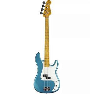 Contrabaixo Sx Precision Bass Spb57 4 Cordas Lake Placid Blue Com Bag