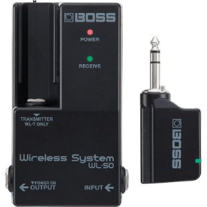 Sistema Sem Fio Transmissor E Receptor Boss WL50 Wireless