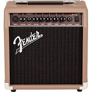 Amplificador para Violão Fender Acoustasonic 15 Watts