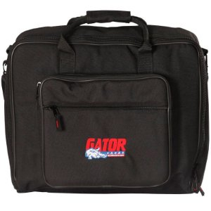 "Bag Gator Para Mixer 18"" x 15"" Nylon Acolchoada G-MIX-B 1815"