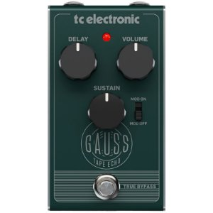 Pedal Tc Eletronics Gauss Tape Echo Delay Guitarra
