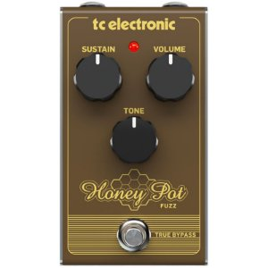 PEDAL TC ELETRONICS HONEY POT FUZZ GUITARRA