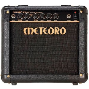Cubo Amplificador Guitarra Meteoro MG15 15w Rms Com Distorção