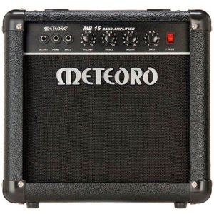 Cubo Amplificador Contra baixo Meteoro MB15 15w Rms