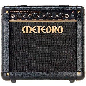 Cubo Amplificador Guitarra Meteoro MG15R 15w RMS Com Distorção e Reverb